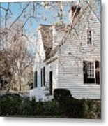 A Spring Day In Colonial Williamsburg Metal Print