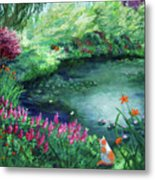 A Spring Day In The Garden Metal Print