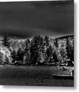 A Spring Day On Old Forge Pond Metal Print