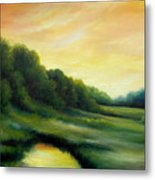 A Spring Evening Part Two Metal Print