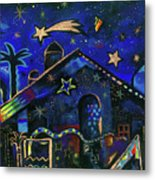 a star in Bethlehem Metal Print