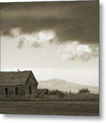 A Storm Looms Metal Print