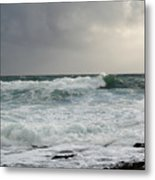 A Stormy Day In Doolin Metal Print