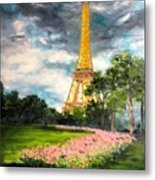 A Strong Tower Metal Print