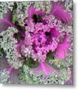 A Study In The Shades Of Spring Two Metal Print