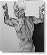 A Study Of Michelangelo Work Metal Print