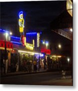A Summer Night In Tarpon Springs Metal Print