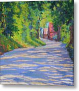 A Summer Road Metal Print
