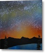 A Summer's Eve At Lake Tahoe Metal Print