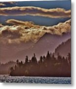 A Sunny Day On The Kachemak Bay Metal Print