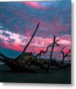 A Sunset On Jekyll Metal Print