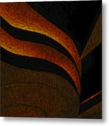 A Swirl Of Light Metal Print