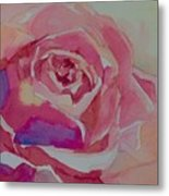 A Tale Of A Rose  Metal Print