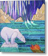 A Tale Of Light And Ice Metal Print