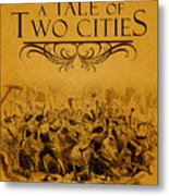A Tale Of Two Cities Book Cover Movie Poster Art 1 Metal Print