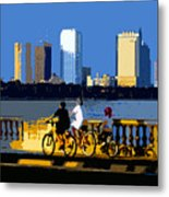 A Tampa Bay Florida Summer Metal Print