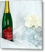 A Toast To Love And Laughter Metal Print