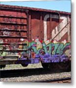 A Train Car Named Desire Metal Print