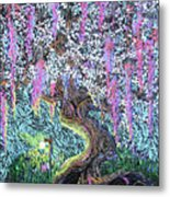 A Tree Of Many Colors Metal Print