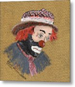 A Tribute To All Clowns Metal Print