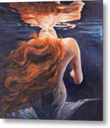 A Trick Of The Light - Love Is Illusion Metal Print