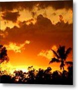 A Tropical Sunset Metal Print