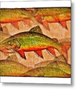A Trout Lovers Dream Metal Print by Terry Mulligan