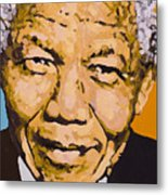 A True Leader With Dignity Personified Metal Print