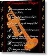 A Trumpeters Prayer_1 Metal Print by Joe Greenidge