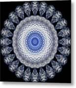 A Twist Of Silver 2 Metal Print