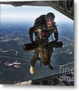 A U.s. Air Force Combat Controller Metal Print