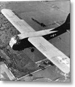 A U.s. Army Air Force Waco Cg-4a Glider Metal Print by Stocktrek Images