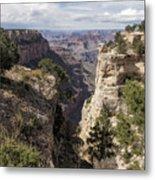 A Vertical View - Grand Canyon Metal Print