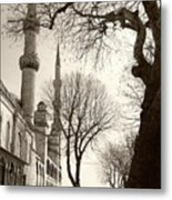 A View From Blue Mosque Metal Print