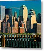 A View From Hoboken Metal Print