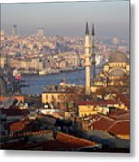 A View From Istanbul Metal Print