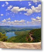 A View From Table Rock South Carolina Metal Print