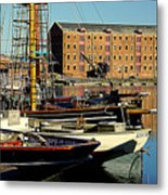 A View From The Docks Metal Print