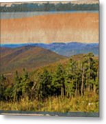 Equinox Mountain, Vermont.             Metal Print