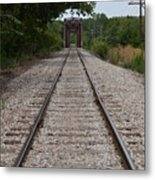 A View From The Tracks Metal Print