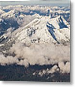 A View From Zugspitze Metal Print