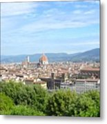A View Of Florence Metal Print