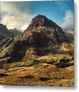 A View Of Glencoe. Metal Print