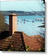 A View Of Mylor Harbour Metal Print