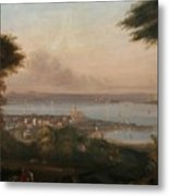 A View Of Penzance Metal Print