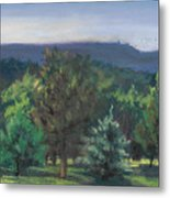 A View Of The Catskill Mountains Metal Print