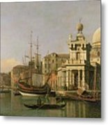 A View Of The Dogana And Santa Maria Della Salute Metal Print