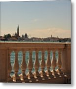 A View Of Venice Metal Print