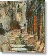 A View On The Sacre Coeur Metal Print