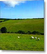 A View Over Exmoor 2 Metal Print